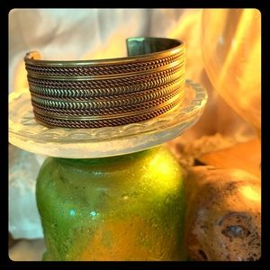 Jewelry - Handmade in India copper and brass bracelet